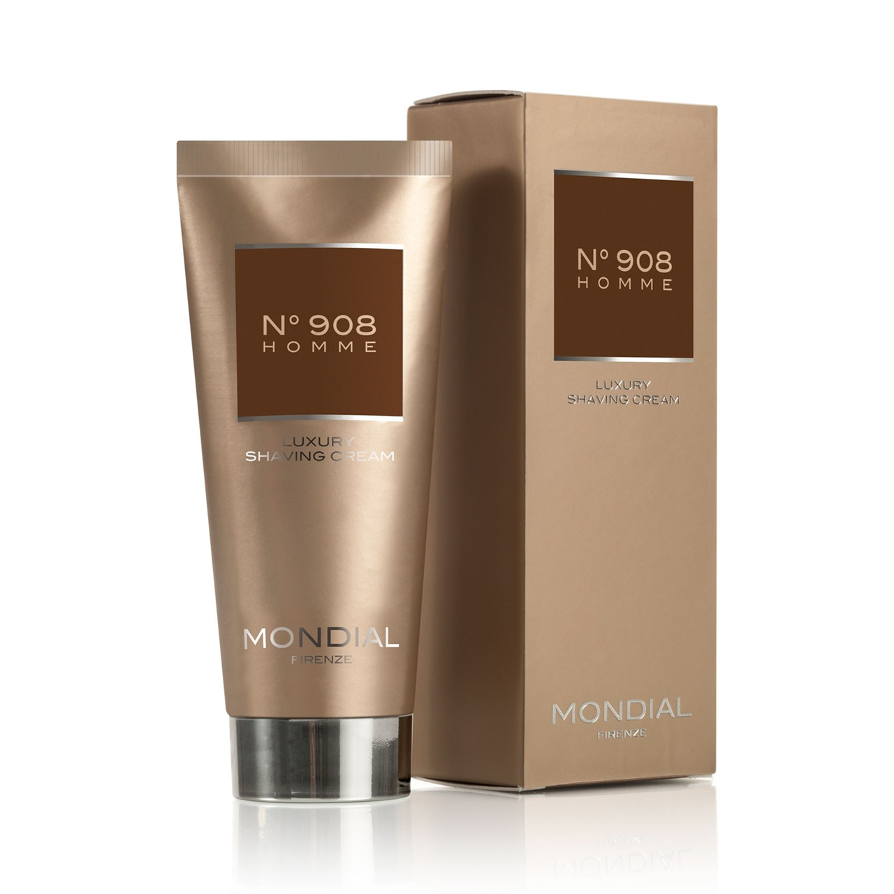 Image of   Mondial N°908 Homme Barbercreme på tube, 100 ml.