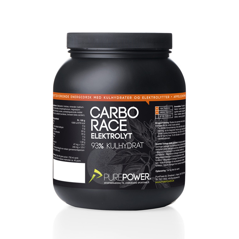 PurePower Carbo Race Elektrolyt 1,5 kg