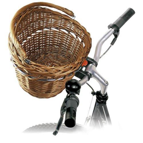 Klickfix - Wicker Basket | Cykelkurve