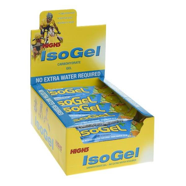 High5 IsoGel Plus - 25 stk   Energy gels