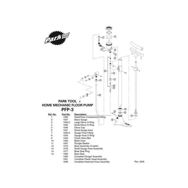 Kugle f. pumpeslange kort PFP-3