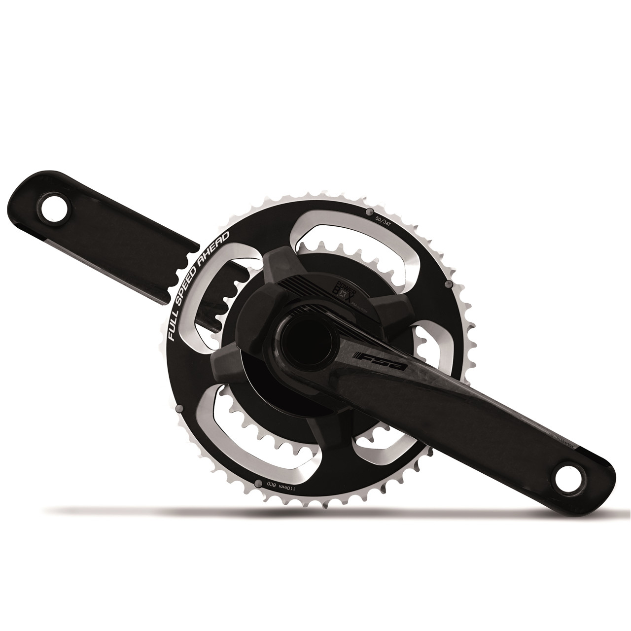Cykler Fsa Powerbox Bb386 Carbon (165Mm, 53/39T) Cykel Tilbehør