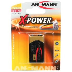 Image of   Ansmann 6LF22 Batteri