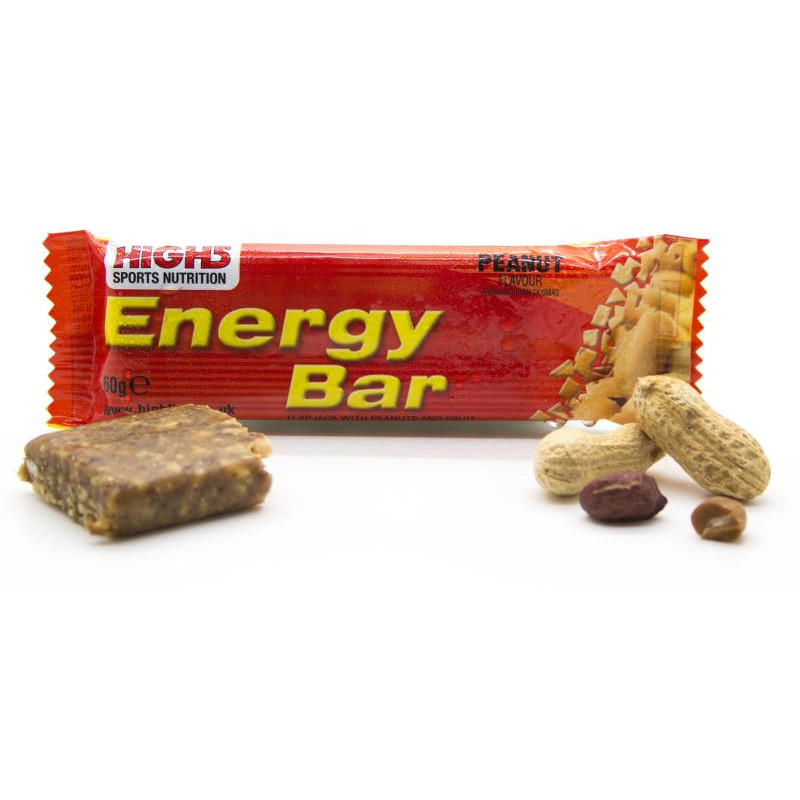 Cykler High5 Energybar - 20 Stk (Peanut) Cykel Tilbehør