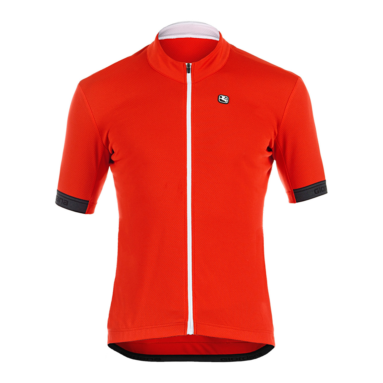 Giordana Jersey Fusion Kortærmet (Rød, L) Cykel Tilbehør      Cykeltøj  Giordana Cykeltøj  Cykelbeklædning