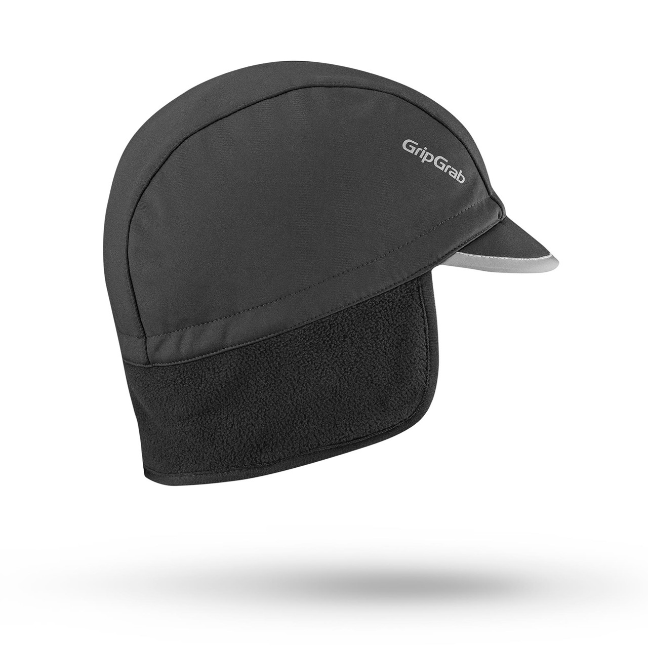 Grip Grab Winter Cycling Cap (Black, S)