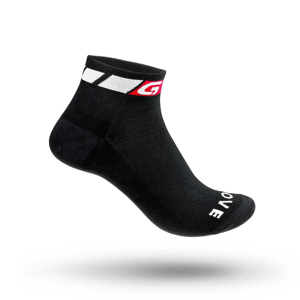 Grip Grab Low Cut Summer Sock (Sort, Medium) Cykel Tilbehør