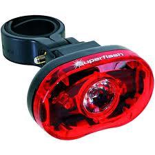 Super Flash Baglygte - TEST VINDER   Rear lights