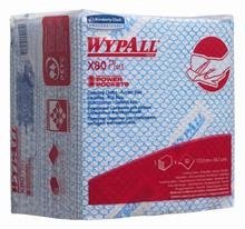 KLUDE WYPALL 1-LAGS X80 BLÅ 240 ARK