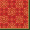 SERVIET 3-LAGS 33X33 CM XMAS DECO RED 500 STK.