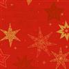 SERVIET 3-LAGS 40X40 CM STAR STORIES RED 1000 STK.