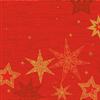 SERVIET DUNISOFT 40X40 CM STAR STORIES RED 360 STK.