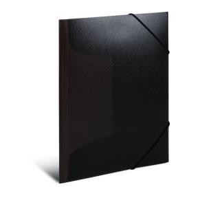 Elasticated folder A3 PP black