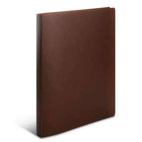 Ring binder A4 translucent brown