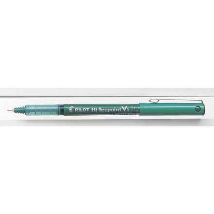 Roller hi-tecpoint Pilot grøn BX-V5 - extra fine 0,5 mm