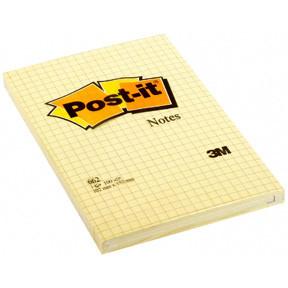 3M Post-it 662 Note kvadreret, 102 x 152mm (6)