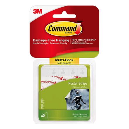 3M Command plakatstrips, Value Pack 17024-VP