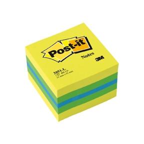 Post-it Notes Lemon - Mini kubusblok 51 x 51 mm