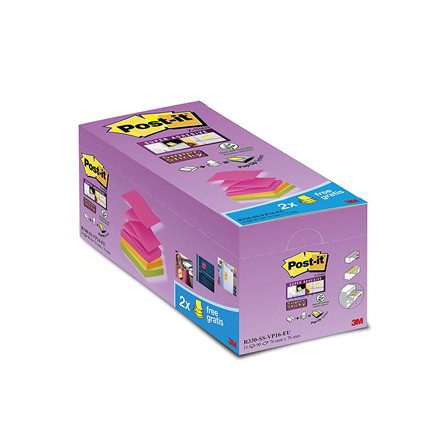 3M Post-it notes SS Z-Notes V-Pack (16)