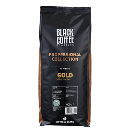 Black Coffee Roasters Gold Rainforest Alliance  - 1 kg. pr. pose