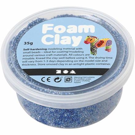 Foam Clay® blå - 35 gram