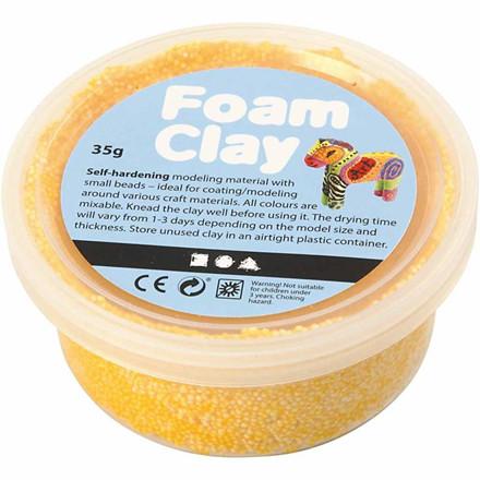 Foam Clay® gul - 35 gram