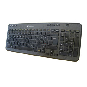 Logitech K360 Wireless Keyboard  (Nordic)