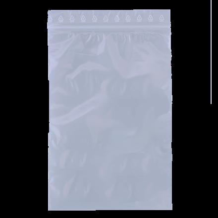 Lynlåspose BNT 80 x 120 mm uden skrivefelt og hul - 1000 stk i pakke