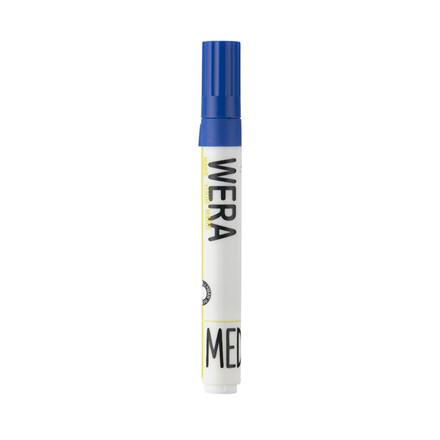 Whiteboardmarker WERA blå - rund spids 1-3mm