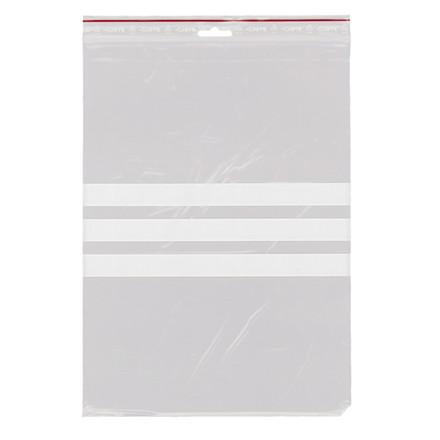 Lynlåspose med skrivefelt 230 x 320 mm med eurohul GRIPPIE T-78 - 1000 stk i pakke