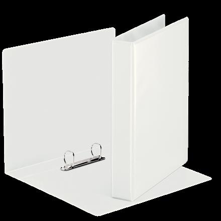A5 indstiksringbind hvid med 2 ringe og 37 mm ryg - Esselte 46571