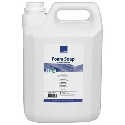 UDSOLGT Abena Foam Soap - Skumsæbe uden farve og parfume - 5 liter dunk