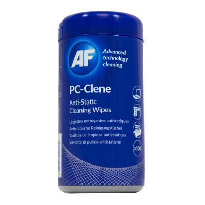 AF PC-Clene - Overflade Rens Vådservietter - 100 stk