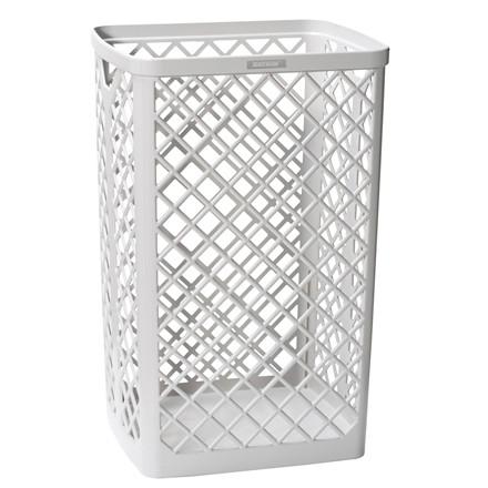 Affaldskurv Katrin Waste Bin hvid plast 40l 4287