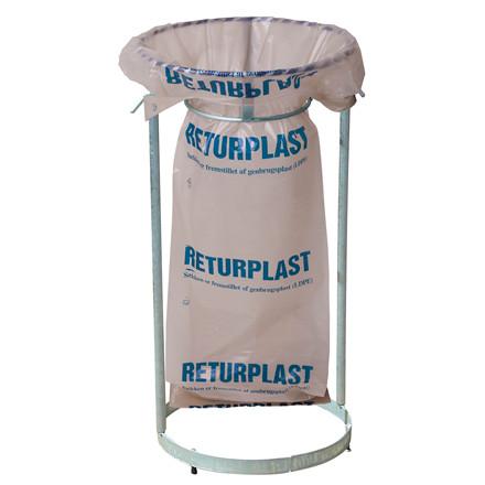 Affaldssække 240 liter til returplast 850 x 1600 mm - 1 rulle