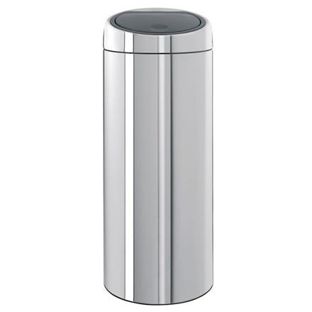 Affaldsspand, Brabantia, Plastik inderspand, blank stål, 30 l