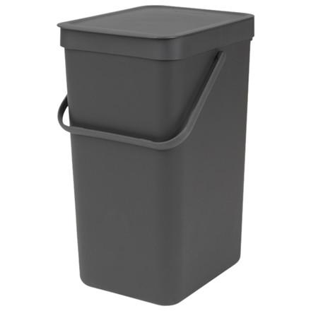 Affaldsspand, Brabantia Sort & Go, 279x220x401mm, grå *Denne vare tages ikke retur*