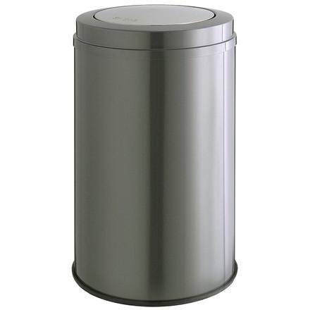 Affaldsspand, Wesco, med sving låg, graphite, 120 l