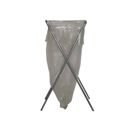 Affaldsstativ Flexus Simplex galvaniseret stål - med gummifød