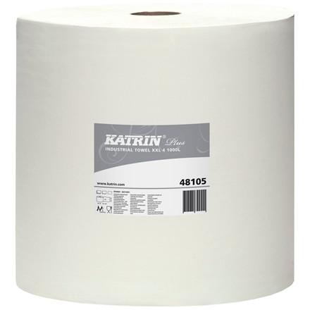 Katrin Plus 481054 Aftørringspapir XXL4 1000 - 38 cm x 360 meter - 1 rulle