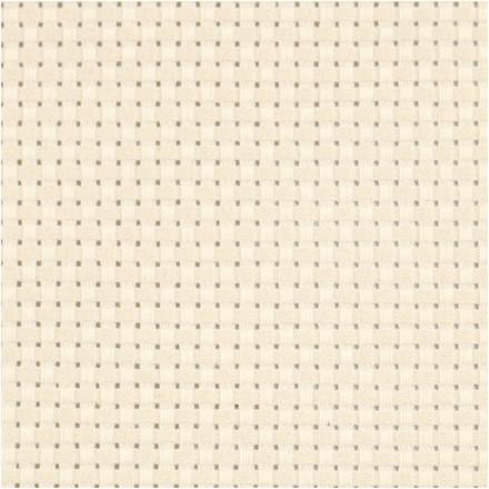 Aidastof str. 50 x 50 cm råhvid   35 tern pr. 10 cm