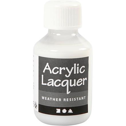 Akryllak, vejrbestandig, 100 ml