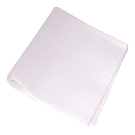 Aftørringsklude hvid 38 x 38 cm - Fremstillet af naturmaterialer - 50 stk
