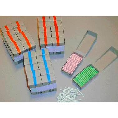 Lodder til Amerikansk lotteri Hvid - Æske med 100 numre
