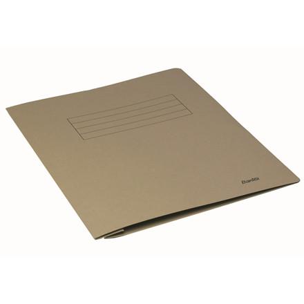 Arbejdsmappe A4 Bantex grå med skrivefelt - 100090831