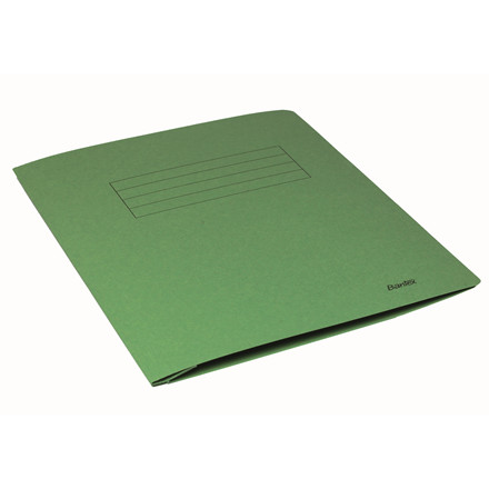 Arbejdsmappe A4 Bantex grøn med skrivefelt - 100090830