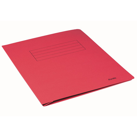 Bantex A4 Arbejdsmappe rød med skrivefelt - 100090833