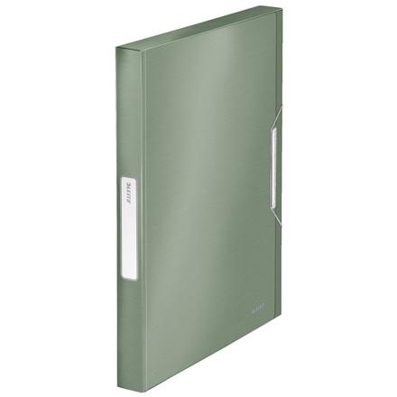 Leitz Style A4 Arkivmappe med elastik og 30 mm ryg grøn    39560053