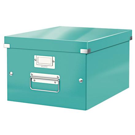 Opbevaringsboks Leitz Click & Store 28 x 20 x 37 cm - Isblå
