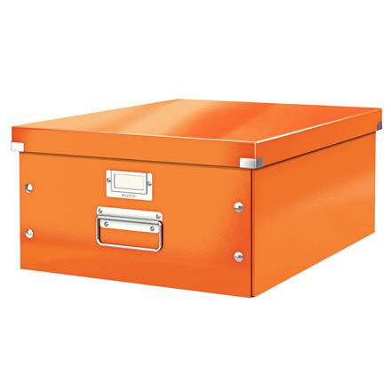 Leitz Click & Store arkivæske 37 x 20 x 48 cm - Orange